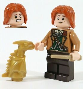LEGO HARRY POTTER BILL WEASLEY MINIFIGURE & DRAGON - MADE OF GENUINE LEGO PARTS