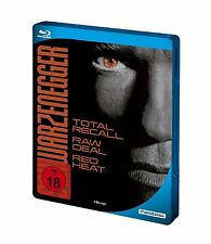 Steelbook ARNOLD SCHWARZENEGGER City Hai RED HEAT Total Recall 3 BLU-RAY BOX Neu