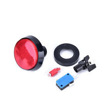 1pc 60mm LED Light Big Round Arcade Video Game Player Push Button Switch Lamp FO