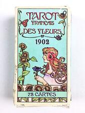 Tarot Français Des Fleurs 1902 / 78 Cartes / Boite Usée