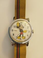 Vintage 1970 Timex MICKEY MOUSE Character Watch Walt Disney Mechanical Windup