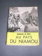 Afrique Libéria Marcel Le Roy voyage au pays du Niamou 1951 illustré de photos