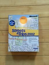 Microsoft Streets and Trips 2002 Retail Version, Perfect Box, Receipt from CDW