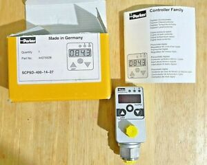 PARKER SCPSD-400-14-27 SCPSD44075508 SENSOCONTROL PRESSURE CONTROLLER