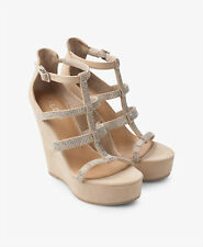 Aldo Belladonna Off White  Women's Wedge Sandals UK 7 EU 40 US 9 NEW RRP £65
