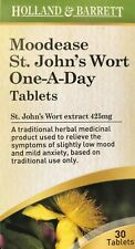 Moodease St. John's Wort One-A-Day 30 Tablets - 425mg