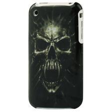 Hülle f Apple iPhone 3GS 3G Schutzhülle Tasche Case Cover Totenkopf Skull tot