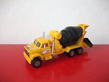 (05.09.15.4) Camion truck toupie beton engin de chantier n°3031 Majorette 1/60