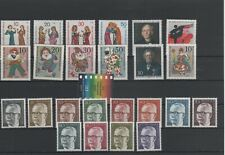 Germany Berlin Vintage Yearset 1970 Mint MNH Complete More Sh Shop