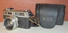 VINTAGE YASHICA ELECTRO 35 GSN CAMERA WITH 45MM LENS AND ORIGINAL CASE ~201