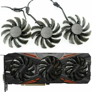 Fan For AORUS GTX 1070 1080 970 980 T128010SU PLD08010S12H Replace Cooling 75MM