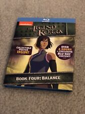 Legend of Korra: Book Four- Balance Blu-ray 2-Disc Mini Poster Brand New Sealed