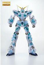 NEW BANDAI MG 1/100 RX-0 Unicorn Gundam Color Clear The Art of Gundam Limited