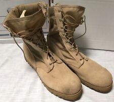 Wellco Vibram US Army Combat Boots Hot Weather Desert Tan Men's Sz 15.5 15 1/2
