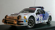 PIECE UNIQUE : 1/43 FORD RS 200 gr.B - BLOMQVIST - MOTORCRAFT - RAC RALLYE 1986