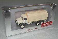 """Herpa 1:87 Iveco 330-30 hnw planear-camión """"onu"""" - derecho rara vez!!! embalaje original (eh4916)"""