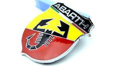 3D Auto Metall Schriftzug Aufkleber Emblem Plakette für ABARTH Skorpion Shield