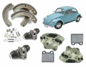 VW BEETLE AND KARMANN GHIA 1968-1979 FRONT AND REAR BRAKE KIT