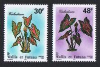 Wallis and Futuna Flowers Caladium 2v 1996 ** MNH SG#685-686 SC#484-485