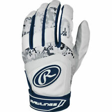 Rawlings 5150 Batting Gloves (Navy Blue/Youth Large)