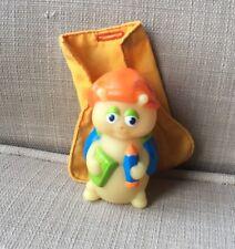 Gloworm Toy 1986 Hasbro Vintage Book Bug Soft Plastic Semi Hard Hollow Slp Bag