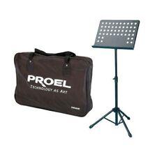 PROEL RSM360M leggio leggilibro spartito teatro orchestra lettura bag trasporto