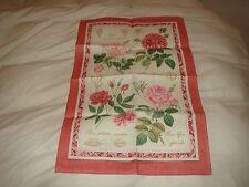 Irlandese Lino Asciugamani ANTICO ROSE Ulster Weavers Royal Società Orticola