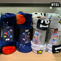 BTS BT21 Official Authentic Goods SKIRT Blanket 2TYPE + Tracking Number