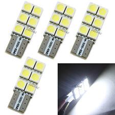 4pcs T10 194 168 W5W Wedge 5050 6 SMD LED Bulb XENON White Turn light Car Tail