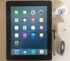 Apple iPad 4th Generation 64GB, Wi-Fi + Cellular (Unlocked), 9.7in - Black