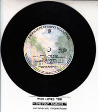 """THE 4 FOUR SEASONS  Who Loves You 7"""" 45 rpm record NEW + jukebox title strip"""