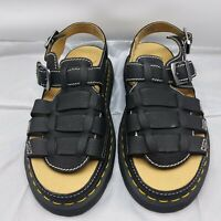 Dr.Martens 8092 ARC Casual Slingbacks Grizzly Leather Sandals Womens-11/Mens-10