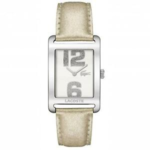 Lacoste 2000674 Club Collection Metallic Leather Band Watch