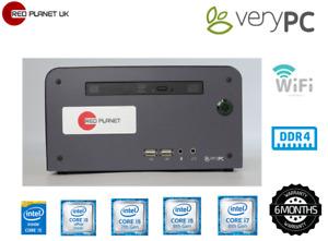 Very PC Intel Core i7 8700 8th gen. 3.2Ghz 16GB DDR4 Ram 240GB SSD Win 10 Pro(A)