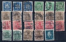 Old stamps of  Germany PERFIN  used collection