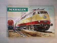 Catalogue Marklin 1966 1967 Complet en FRANCAIS