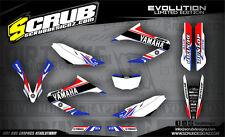 SCRUB Yamaha graphics decals kit WR 125R 2009 - 2017 stickers motocross '09-'17