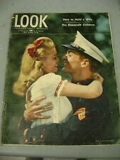 LOOK OCTOBER 30 1945 MARINE HOW TO HOLD A WIFE THE ROOSEVELT CHILDREN