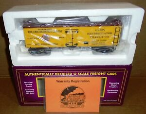 "* M.T.H. ... ""Erie Brewing Company 36' Wood Side Reefer #29084"" NIB #20-94324"