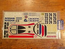 FI-31A Decal Set - Kyosho Nissan R89C Group C Car F1 / Group C / Indy Car series