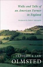 Walks and Talks of an American Farmer in England by Olmsted, Frederick Law