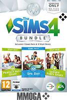 The Sims 4 Spa Day + Luxury Party Stuff + Perfect Patio Stuff Bundle - PC/MAC