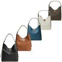 Michael Kors Women's Bag Bowery Hobo Shoulder Features leather Small Handbags
