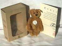 ❤️Miniature STEIFF Club 2002 MEMBERSHIP GIFT TEDDY BEAR 🐻 BLOND ID's BOX COA❤️