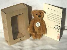 ❤️Miniature STEIFF Club 2002 MEMBERSHIP GIFT TEDDY BEAR 🐻 BLOND ID's BOX COA❤️