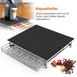 36 Dolce Gusto Kaffee Kapselhalter Kapselspender Kaffeemaschine Ständer Haus DE