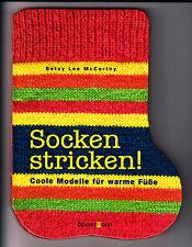 McCarthy, Betsy – Socken stricken! Coole Modelle für warme Füße