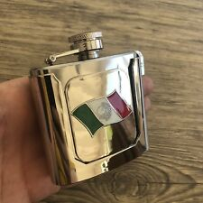 NEW HIGH QUALITY Container Flask Mis BELT BUCKLE Mexican MEN COWBOY Silver BOTTL