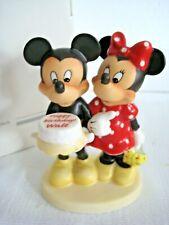 "New ListingRare Disney Goebel Hummel ""Happy Birthday"" • Mickey & Minnie Mouse • Mint w/ Box"