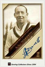 2011 Heritage Test Cricket Captains Blue Facsimile Signature #23 Lindsay Hassett